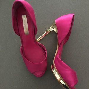 Bcbg Maxazria satin heels